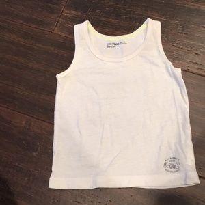 Boys Gap 18-24 month white tank top